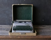 Vintage Smith Corona Manual Typewriter Portable With Case From Nowvintage on Etsy