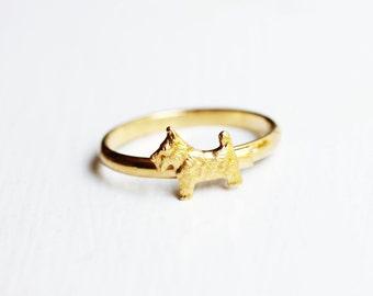 Scotty Dog Ring
