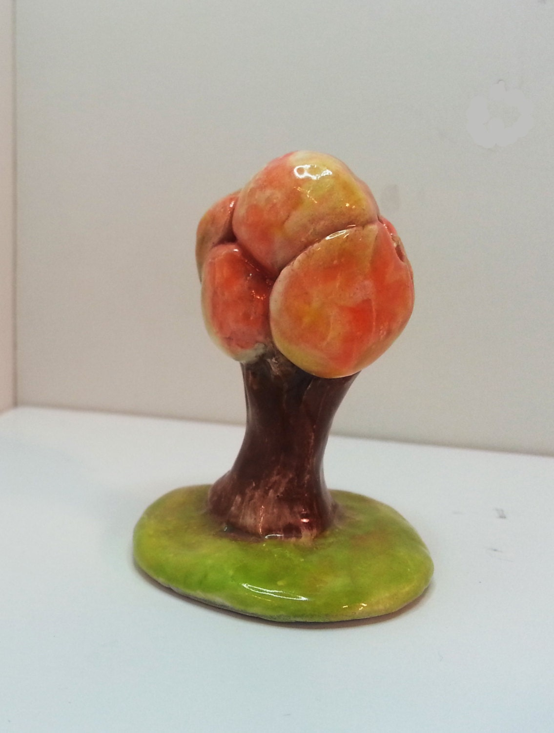 how to make a clay tree sculpture