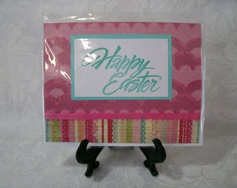 Handmade Easter card, Blank inside #5609