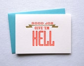 Congrats! Give 'Em Hell Card