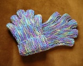 Half Fingered Gloves in Multi Pastels