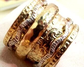 Meditation ring, spinner rings , spinner ring for woman , spinning ring for man
