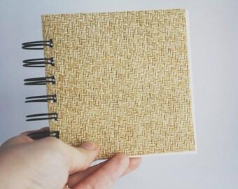 Blank 4 x 4 Mini Book - Weaved
