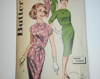Butterick 9657 pattern complete  dress 32 bust
