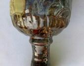 Multicolored Ceramic Wine Goblet