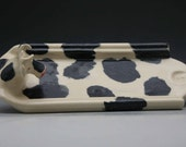 Cow Butter Dish ~ Handmade Stoneware