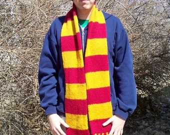 Gryffindor Colors Scarf First Year