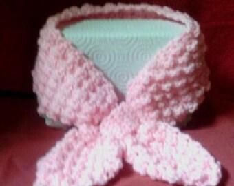 Crochet Lotus Scarf