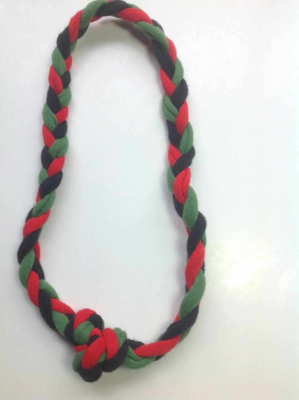 sensory jewelry motor chew necklace green black