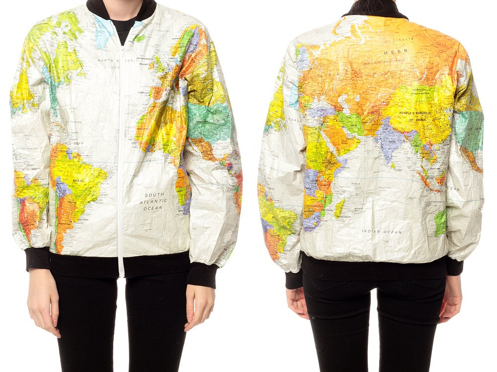 World map jacket 90s tyvek coat ussr windbreaker white 1990s for sales and promotions follow us here instagram shopexile facebookshopexile world map jacket 90s tyvek gumiabroncs Choice Image