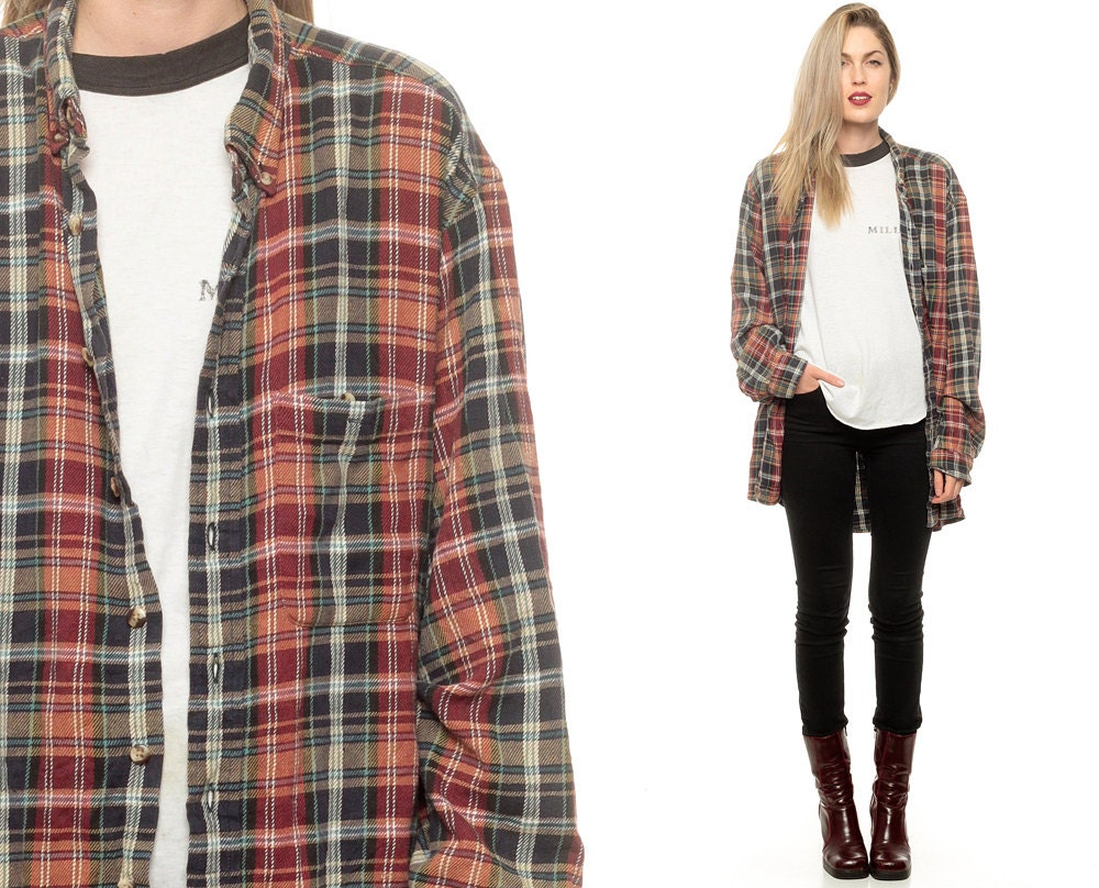 Vintage flannel shirts, starting at $ These are recycled one-of-a-kind items, so only one of each is available for purchase. Most of our vintage flannel shirts were originally manufactured for men, but women often wear them for an oversized look.