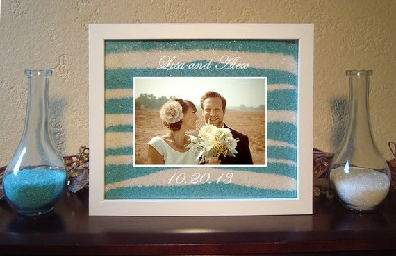 Unity Sand Ceremony Frame Set In White Shopswell