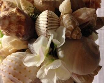 Seashell Wedding Bouquet Beach Sea Shell Bridal Bridesmaid