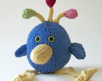 Bub the Bird - PDF Knitting Pattern