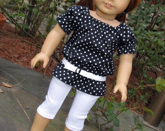 18 Inch Doll Trendy UK Holiday Outfit