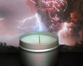 WICKED OMEN Sandalwood Scented Soy Candles - Sandalwood, Musk, Amber & Patchouli