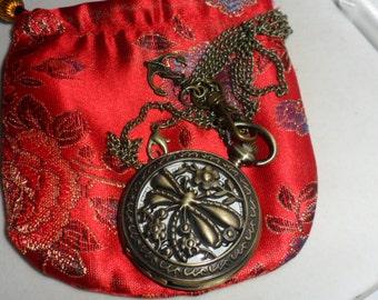 Steampunk Pendant Pocket Watch