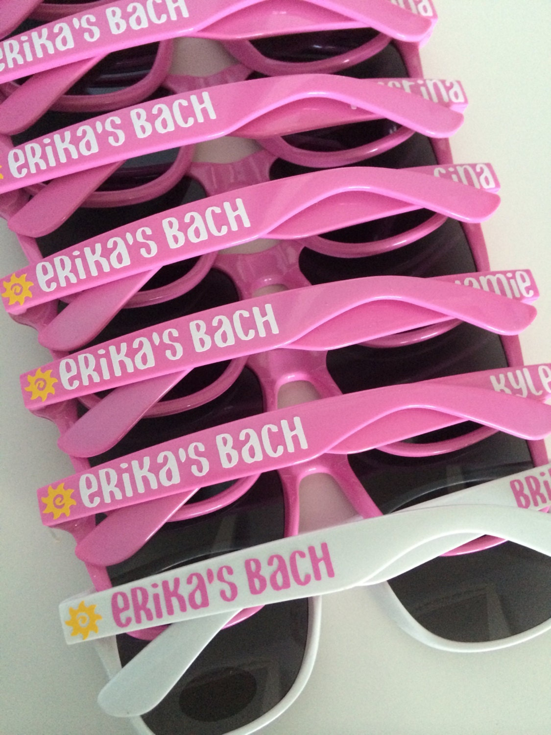 Cheap Personalized Sunglasses Wedding Favors | City of Kenmore ...