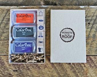 Halloween Stamp Kit for Kids