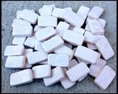 50 MODERN WHITE Mini Subway Tiles