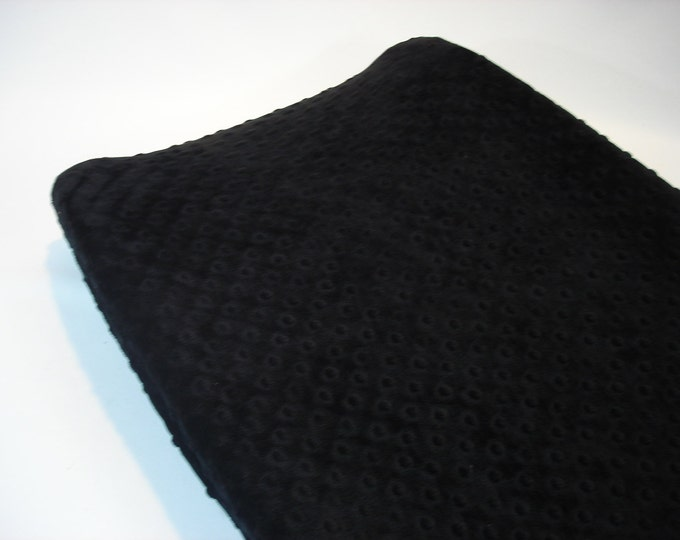 Black Changing Pad Cover