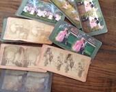 Vintage Stereoview cards