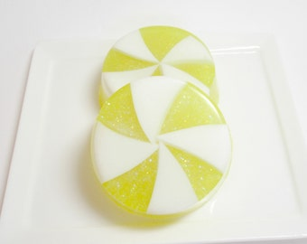 Lemon Sugar  Soap -  Candy Soap,  Soap for Kids, Party Favor Soaps, Holiday Soap, Vegan Soap, Lemon, Dessert Soap