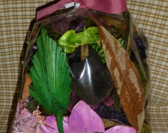 1 lb. bag - Homemade chunky highly scented Potpourri - your choice