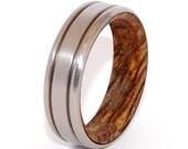 wedding rings, titanium rings, wood rings, mens rings, Titanium Wedding Bands, Eco-Friendly Wedding Rings, Wedding Rings - UNFURL