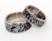 wedding rings, titanium rings, m3, mens rings, Titanium Wedding Bands, Eco-Friendly Wedding Rings, Wedding Rings - KATANA