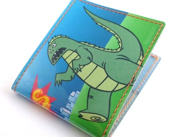 Godzilla vs. Unicorn Vinyl Billfold Wallet