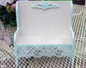 Cottage Doll Bench Shabby Chic