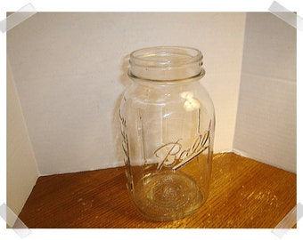 Vintage Glass Mason/BALL Jar/Lid OR No Lid/ Kitchen Wares*