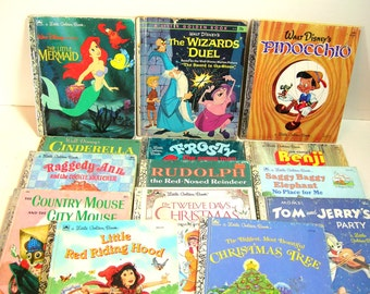 Vintage Little Golden Book Collection