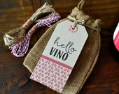 Wine Gift Kit with Tags and Twine
