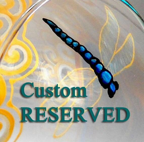 RESERVED Custom Listing for Dwyer