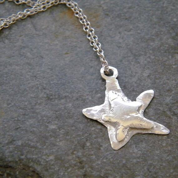 RESERVED FOR ELIZABETH - 925 Sterling Silver Star Pendant