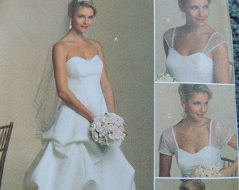 Butterick B5184 Misses Dress and Detachable Sleeves (Uncut)
