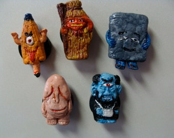 Youkai(Japanese Monsters)Magnet Set A