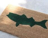 Striped Bass Fishing Doormat