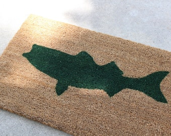 Striped Bass Fishing Doormat