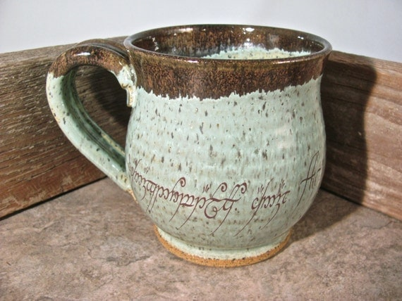 The mug of power lord of the rings by blaine atwood item 300