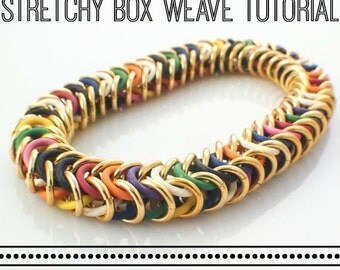 PDF - Box Stretch Chainmaille Bracelet