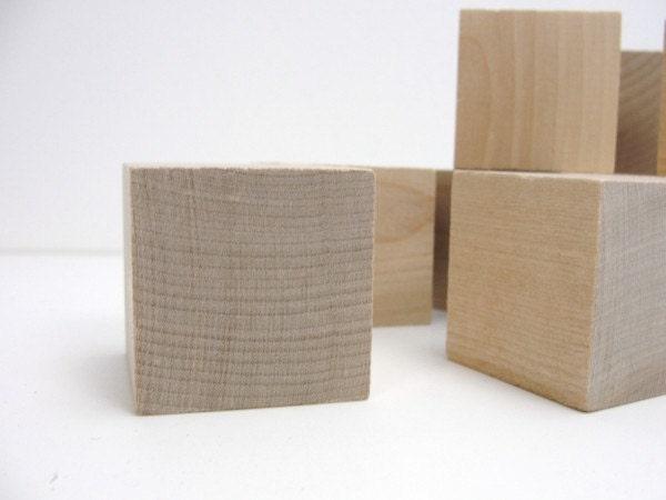 1 5 unfinished wooden block 1 1 2 inch wooden cube. Black Bedroom Furniture Sets. Home Design Ideas