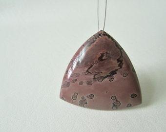 Chohua Jasper Smooth Trillon Focal Bead
