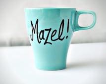 Personalized Oy Vey! Mug Mazel Oy Vey Funny Mug coffee
