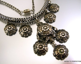 Vintage Victorian Revival Style Necklace 1930s-1950's