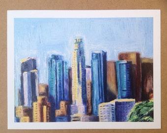 Downtown L.A Art Print- 8.5x11