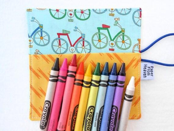 Mini Crayon Organizer Roll